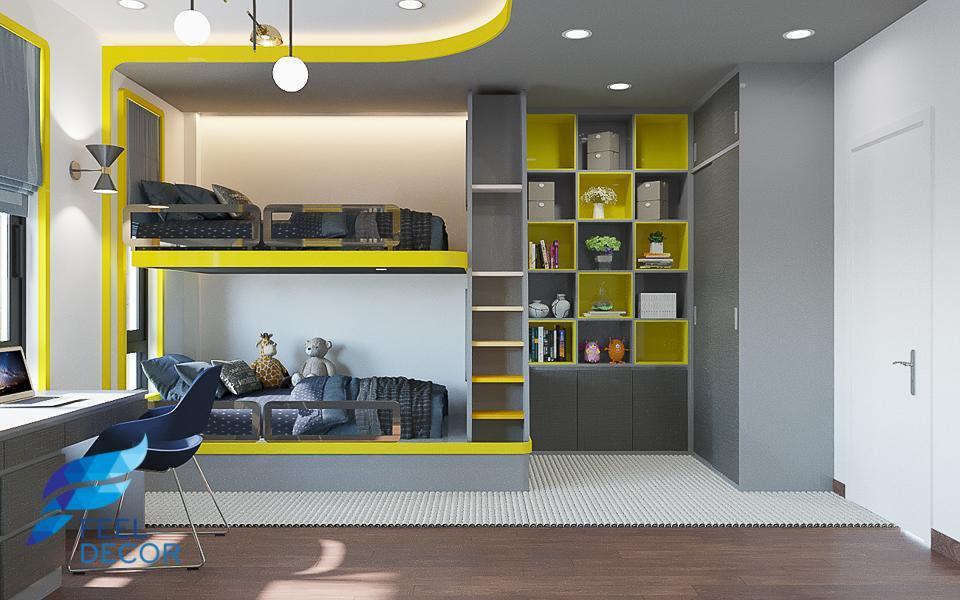 Hình ảnh Mẫu thiết kế nội thất sống cùng với thiên nhiên tại nhà phố Vạn Phúc