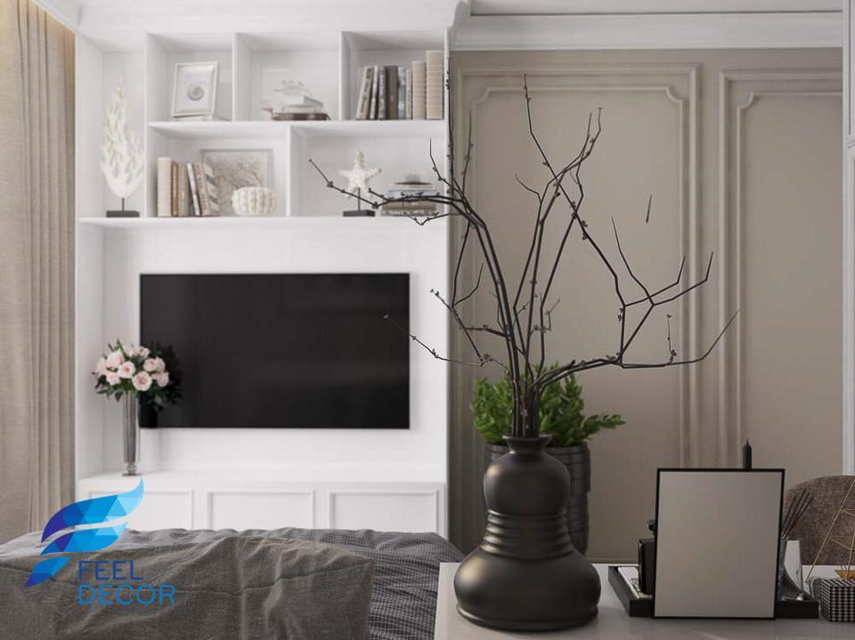 Hình ảnh Thiết kế nội thất căn hộ 79m2 (3 phòng ngủ) chung cư Hà Đô Centrosa Garden.