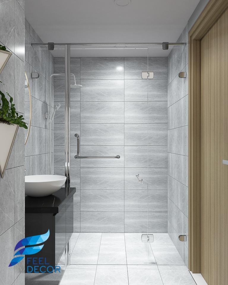 Hình ảnh Thiết kế nội thất căn hộ 94m2 (2 phòng ngủ) chung cư Hà Đô Centrosa Garden