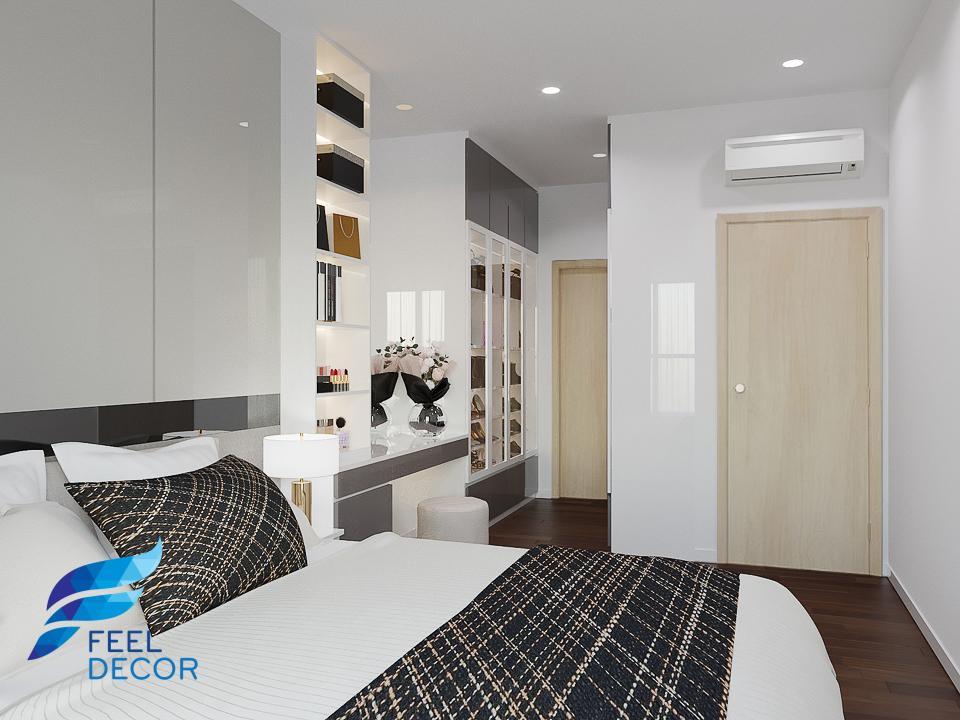 Hình ảnh Thiết kế nội thất căn hộ 97m2 tại chung cư The Sun Avenue.