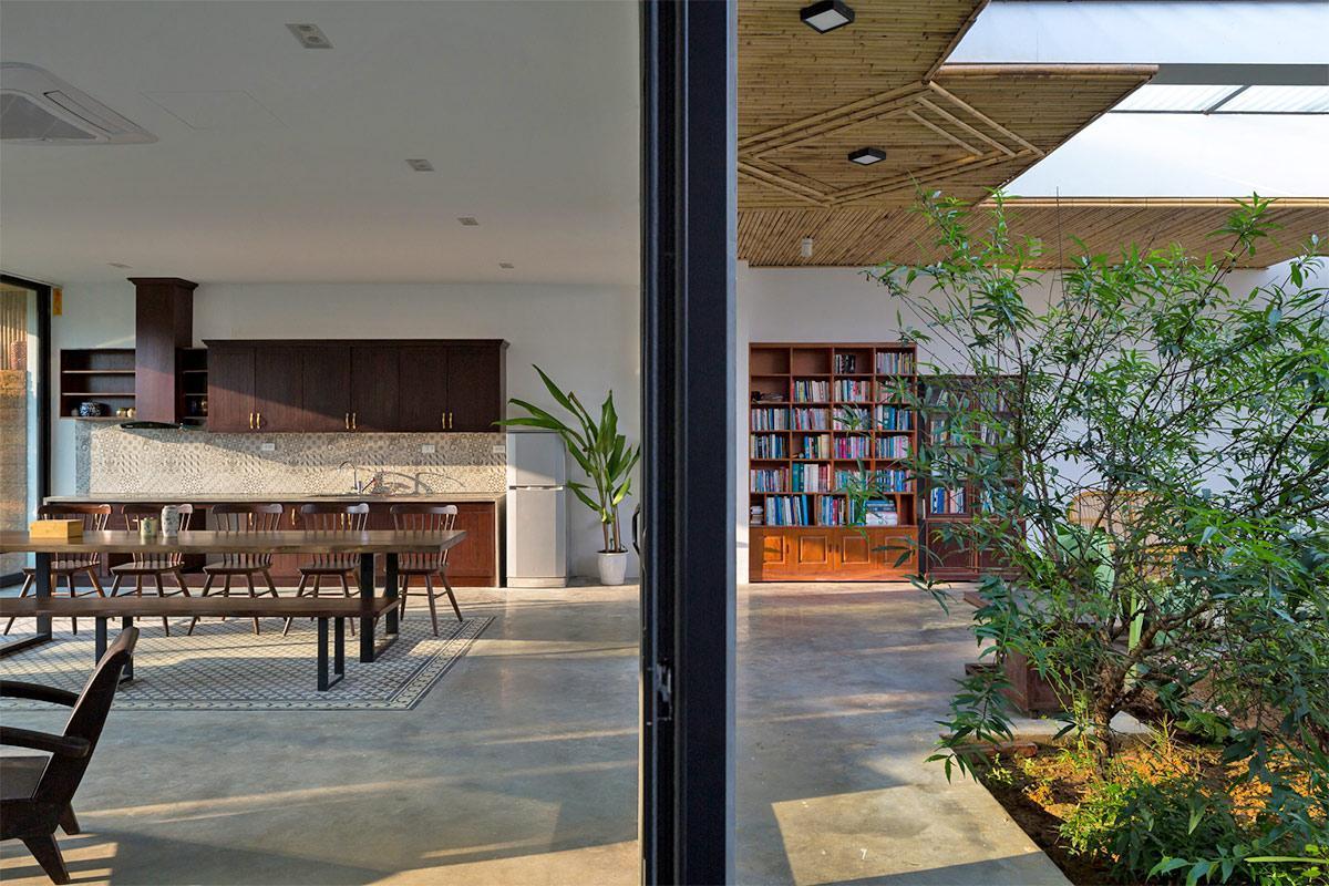 không gian nội thất biệt thự hiện đại