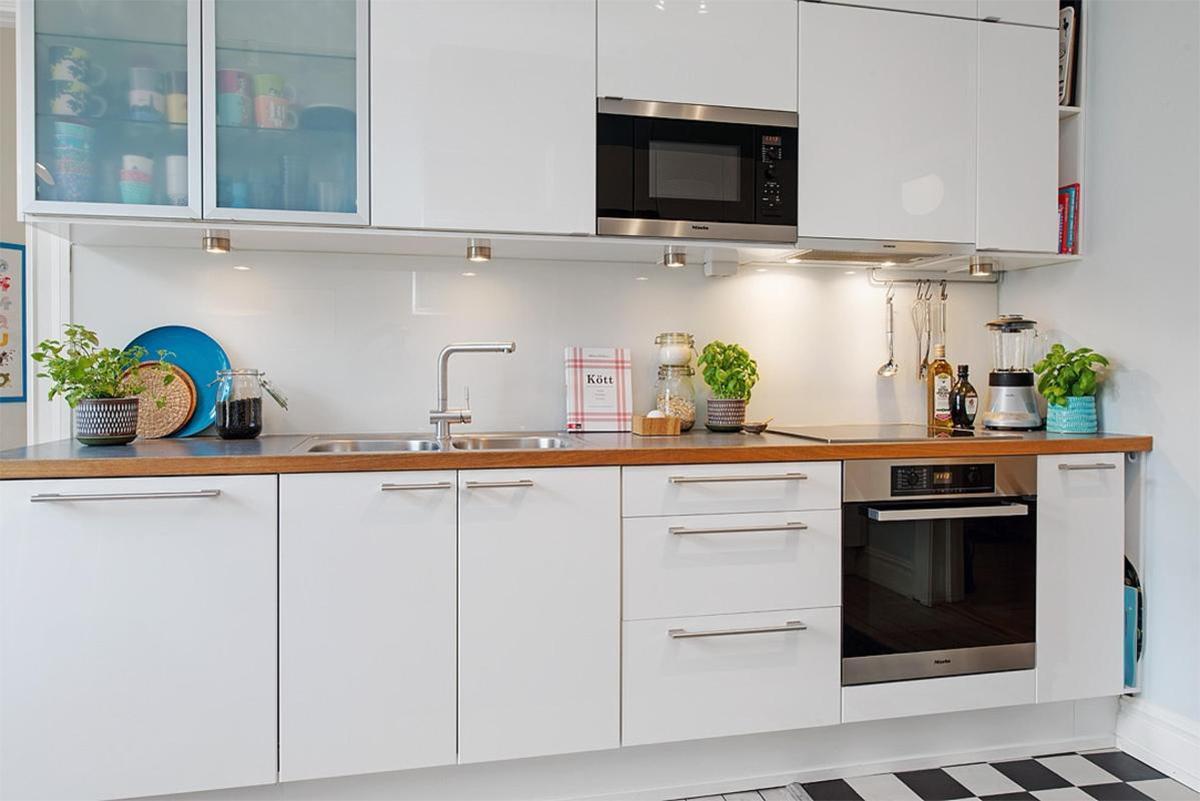Thiết kế nhà bếp theo phong cách Scandinavian