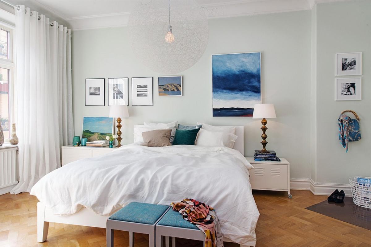 Phòng ngủ đẹp với thiết kể đơn giản