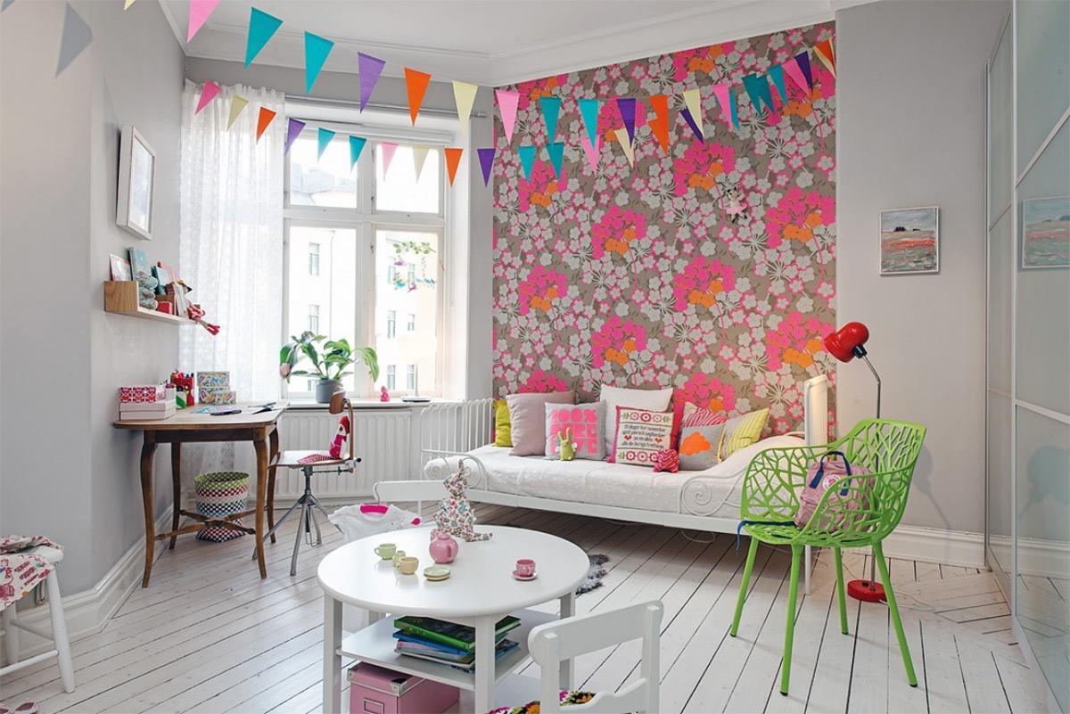 thiết kế căn phòng theo phong cash Scandinavian