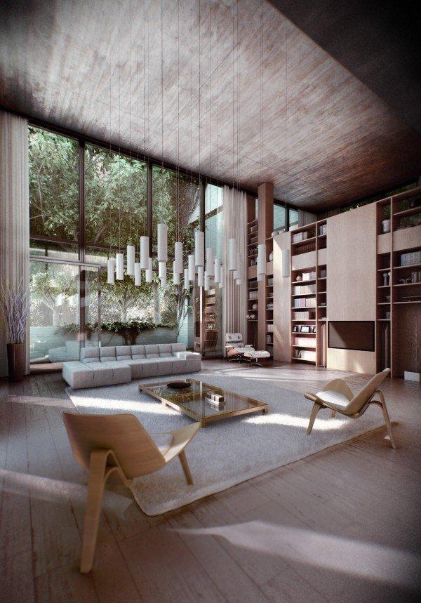 mẫu thiết kế nội thất á đông
