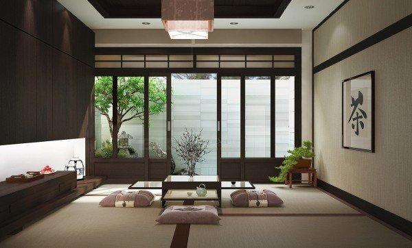 Người Nhật có khuynh hướng trang trí nhà cửa với màu sắc trung tính, hài hòa và tối giản