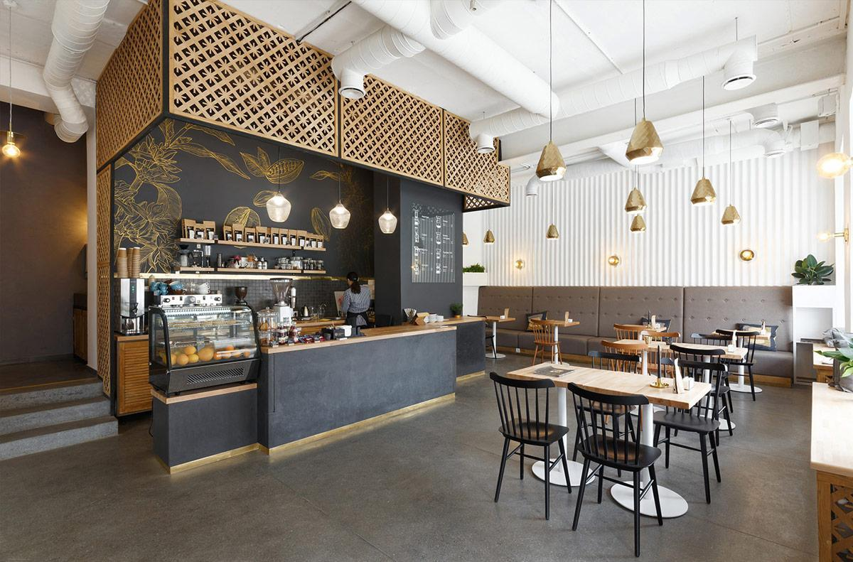 Những mẫu thiết kế nội thất quán café độc nhất vô nhị
