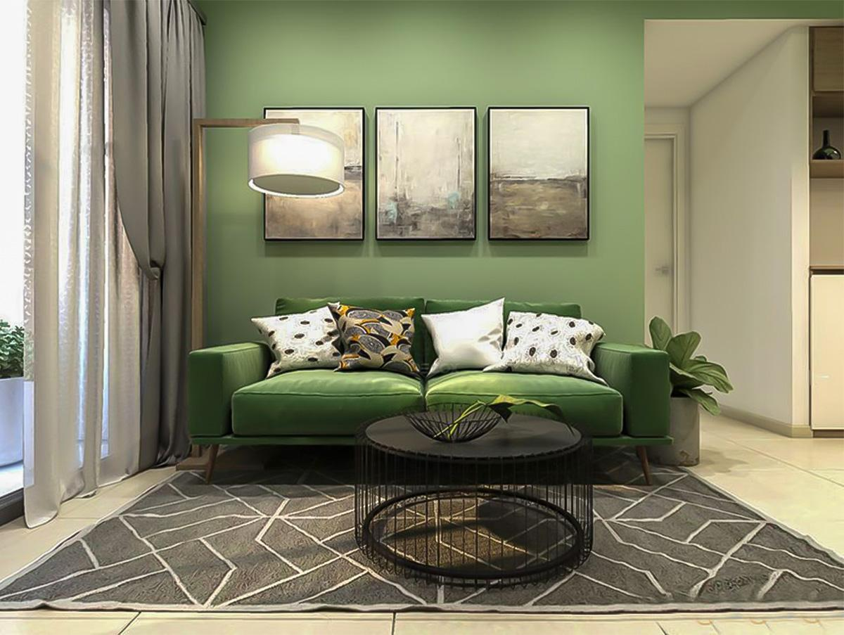 Bạn đã thử dùng màu xanh lá mạ trong thiết kế nội thất chưa?