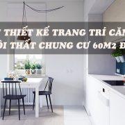 nội thất căn hộ 60m2