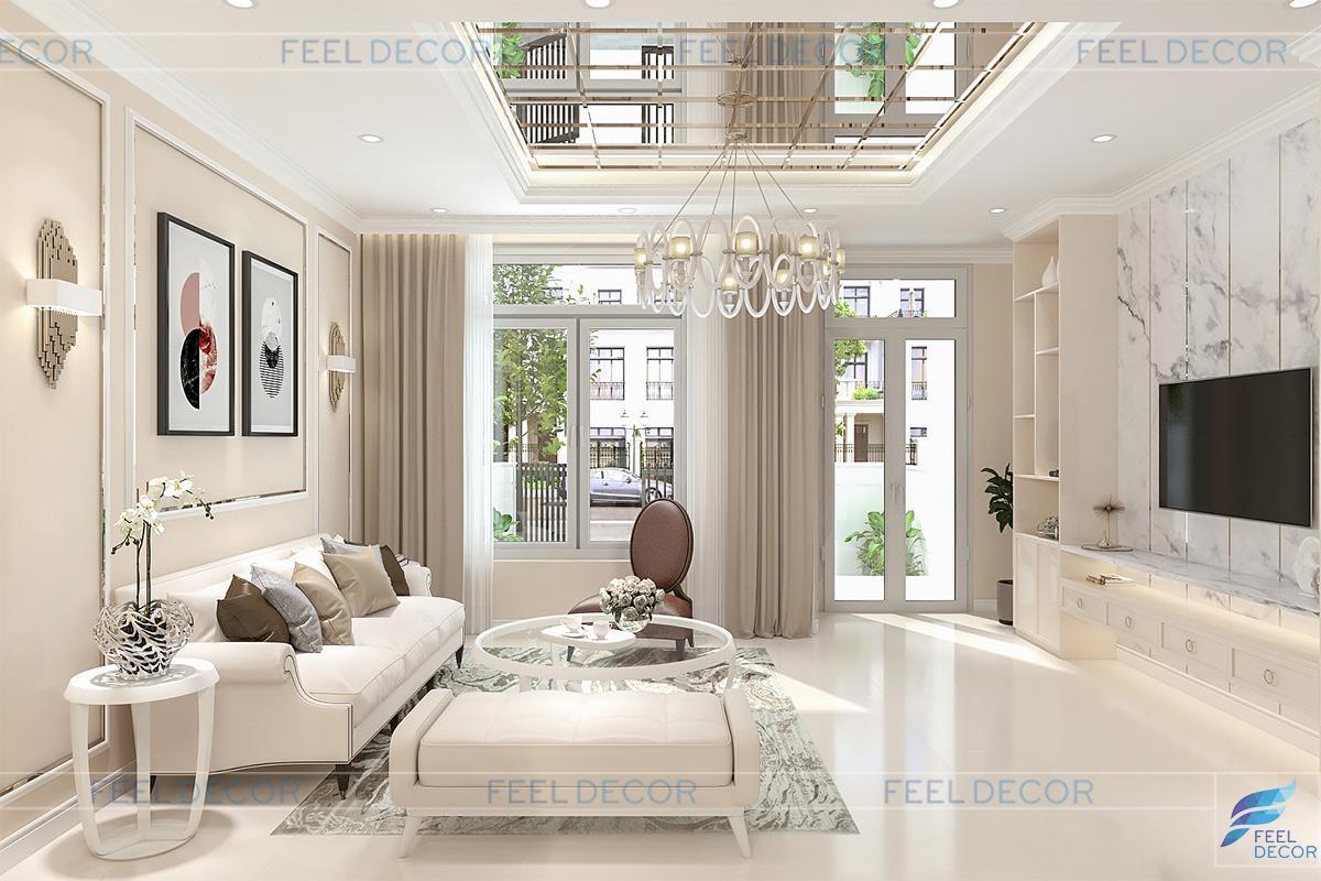 mẫu thiết kế nội thất nhà ống đẹp