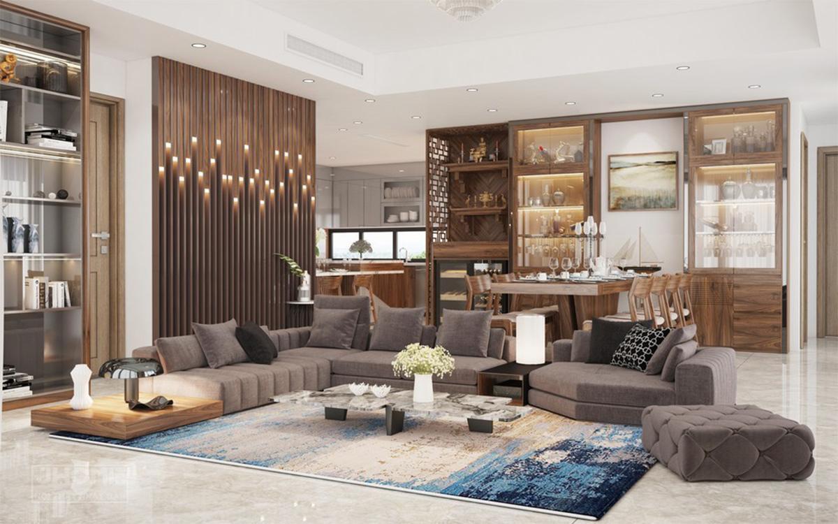 nội thất căn hộ 100m2