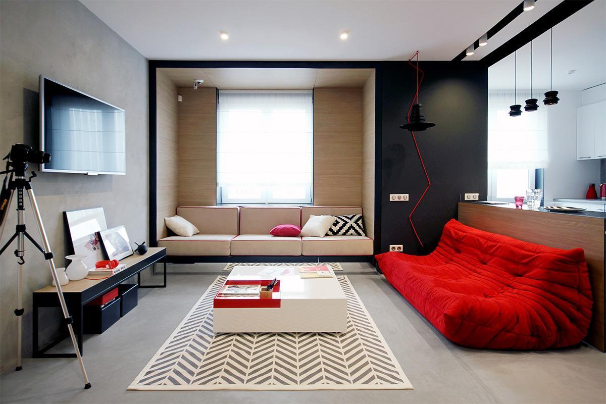 nội thất căn hộ 50m2
