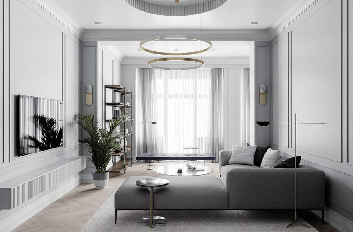 Cách bài trí nội thất chung cư, bố trí không gian căn hộ đẹp