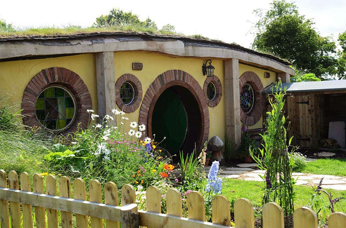 Nhà Hobbit – Một ý tưởng thiết kế tuyệt vời có thể bạn chưa nghĩ tới