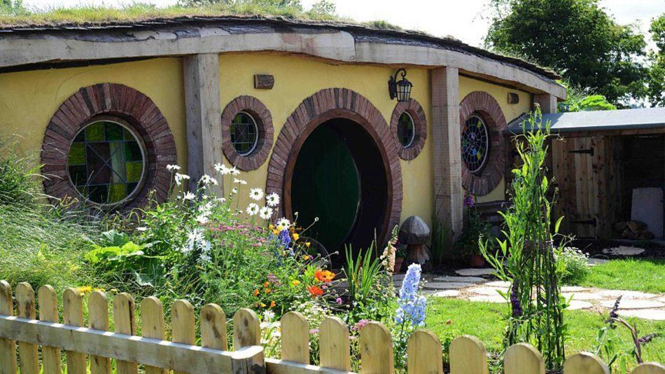 Nhà Hobbit - Một ý tưởng thiết kế tuyệt vời có thể bạn chưa nghĩ tới