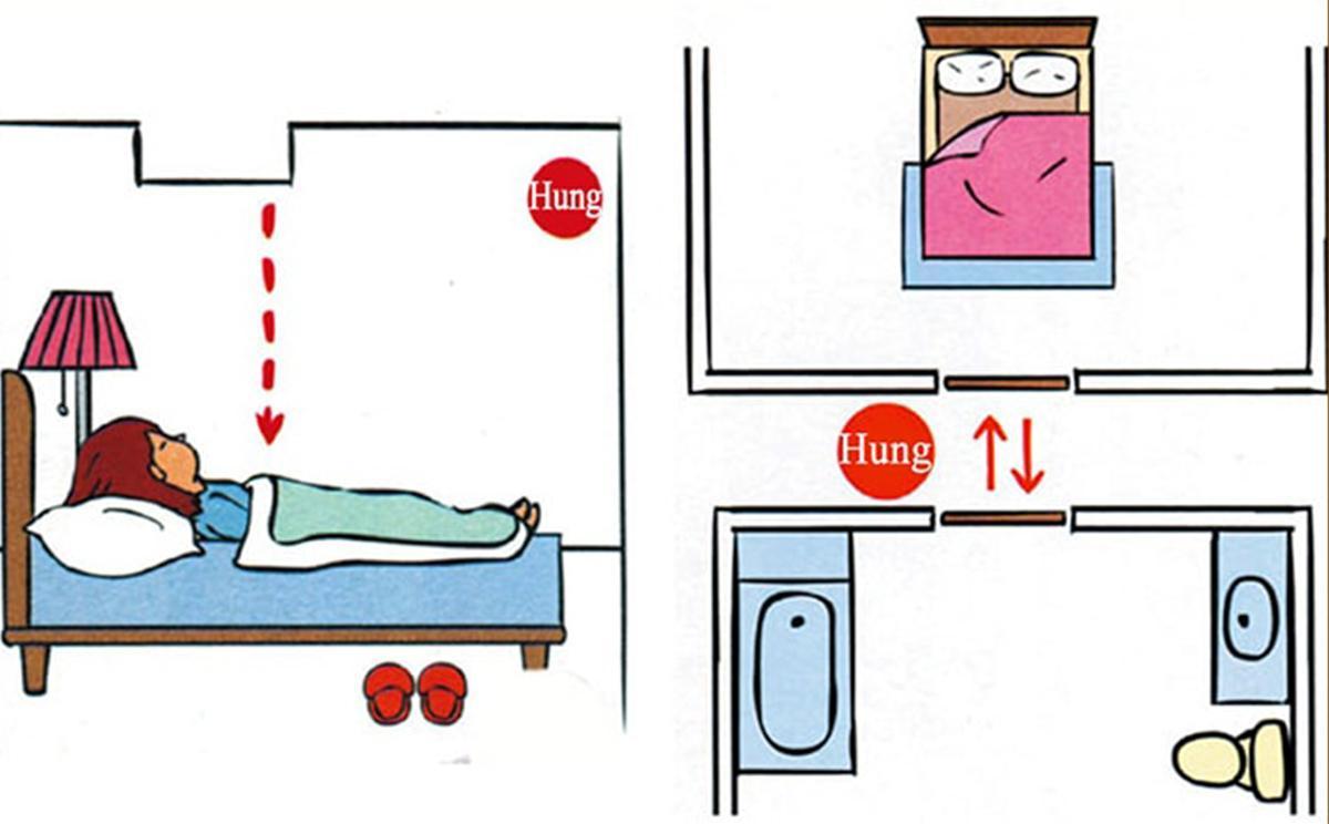 Phong thủy phòng ngủ để vợ chồng thuận hòa hạnh phúc