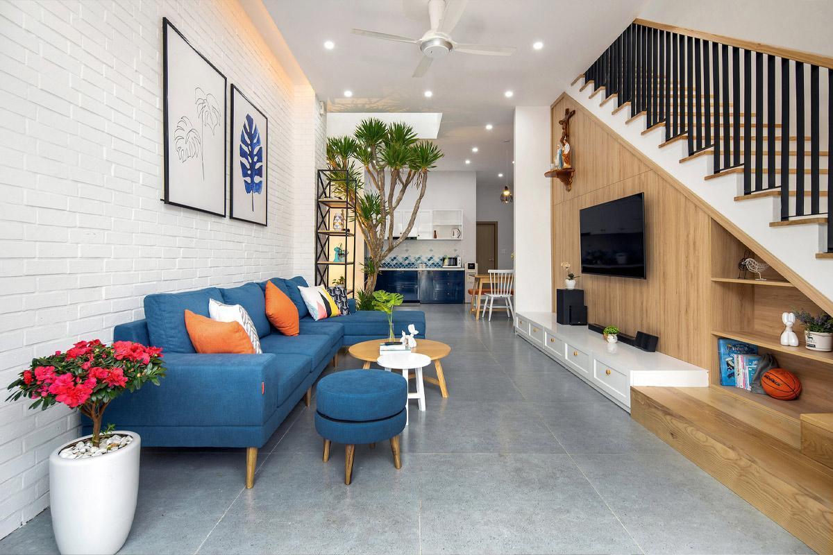 nội thất nhà phố mặt tiền 5m