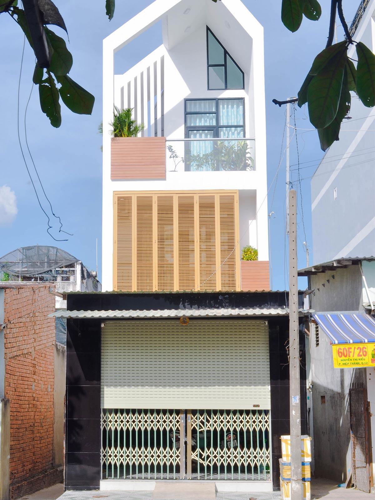thiết kế nội thất nhà phố 70m2