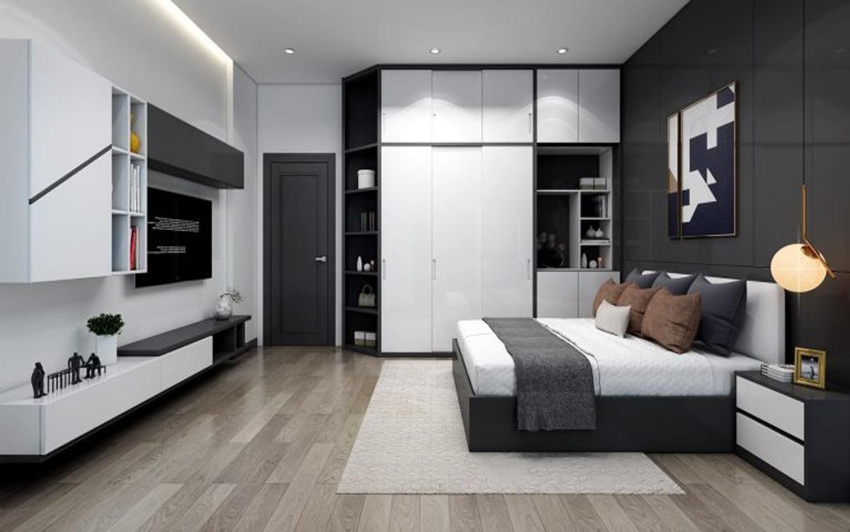 Thiết kế nội thất nhà phố 1 tầng phong cách hiện đại
