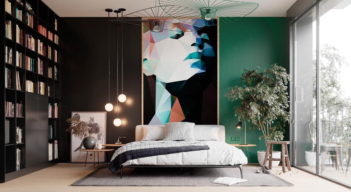 Thiết kế nội thất nhà phố 1 tầng phong cách Tropical