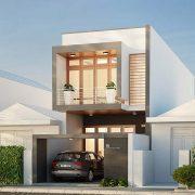 thiết kế nội thất nhà phố 1 tầng