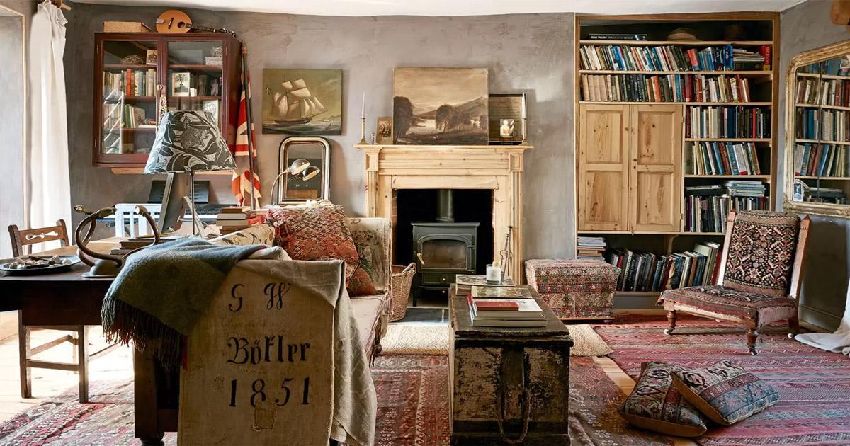 Phong cách Vintage trong nội thất đậm nét xưa cũ - Feel Decor