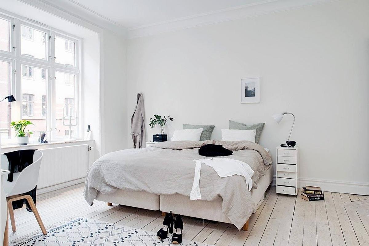 thiết kế phòng ngủ Bắc Âu