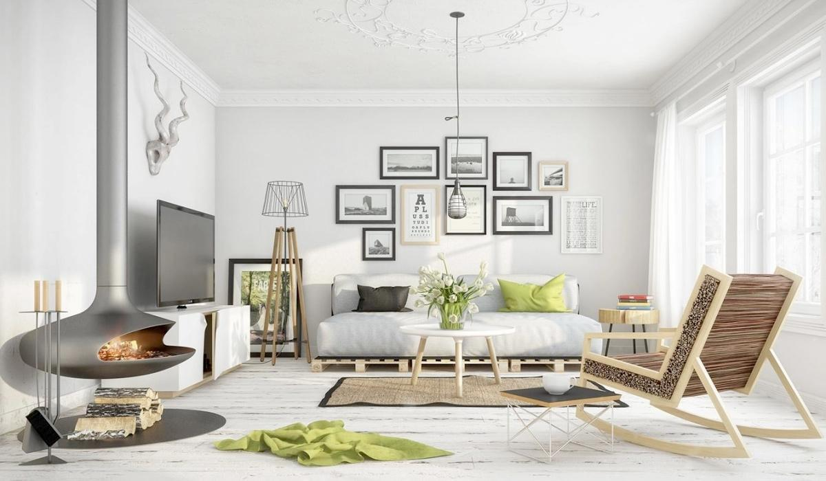 Trang trí tranh trong nhà