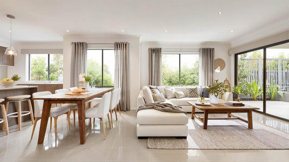 thiết kế nội thất phòng khách nhà ống hiện đại