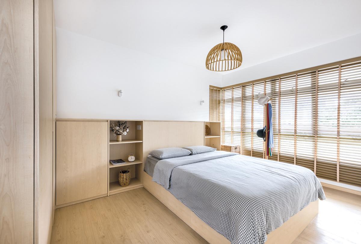phòng ngủ hiện đại tiện nghi