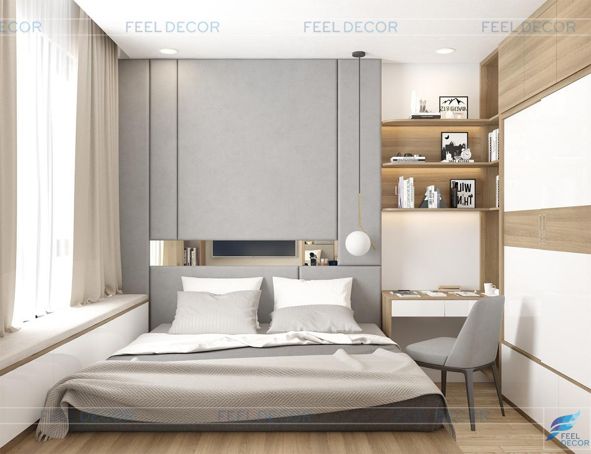thiết kế nội thất chung cư 65m2 wilton tower