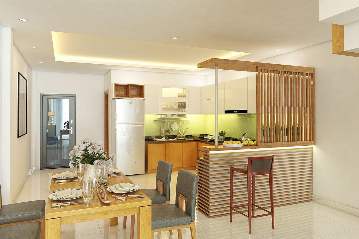 thiết kế nội thất nhà phố 60m2