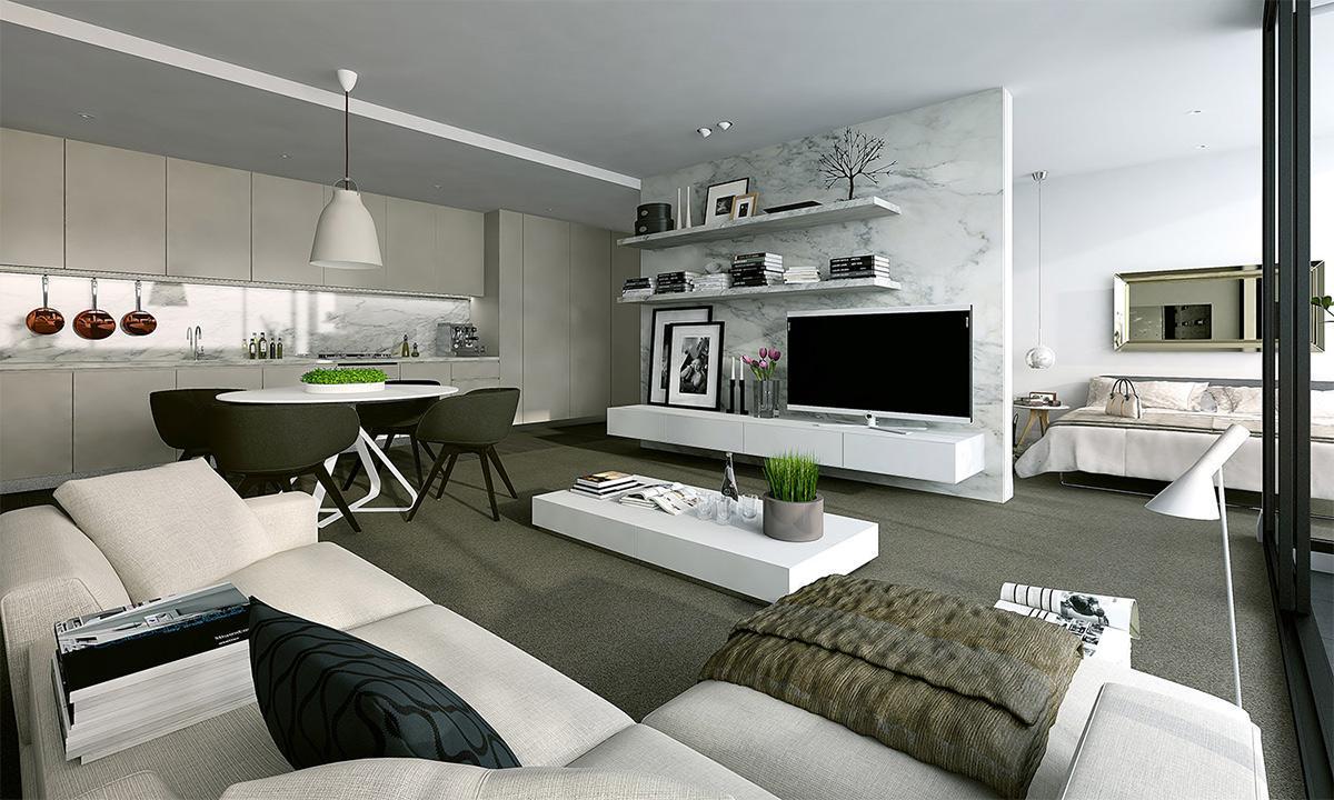 Ý tưởng thiết kế nội thất cho ngôi nhà 100m2 đẹp mắt