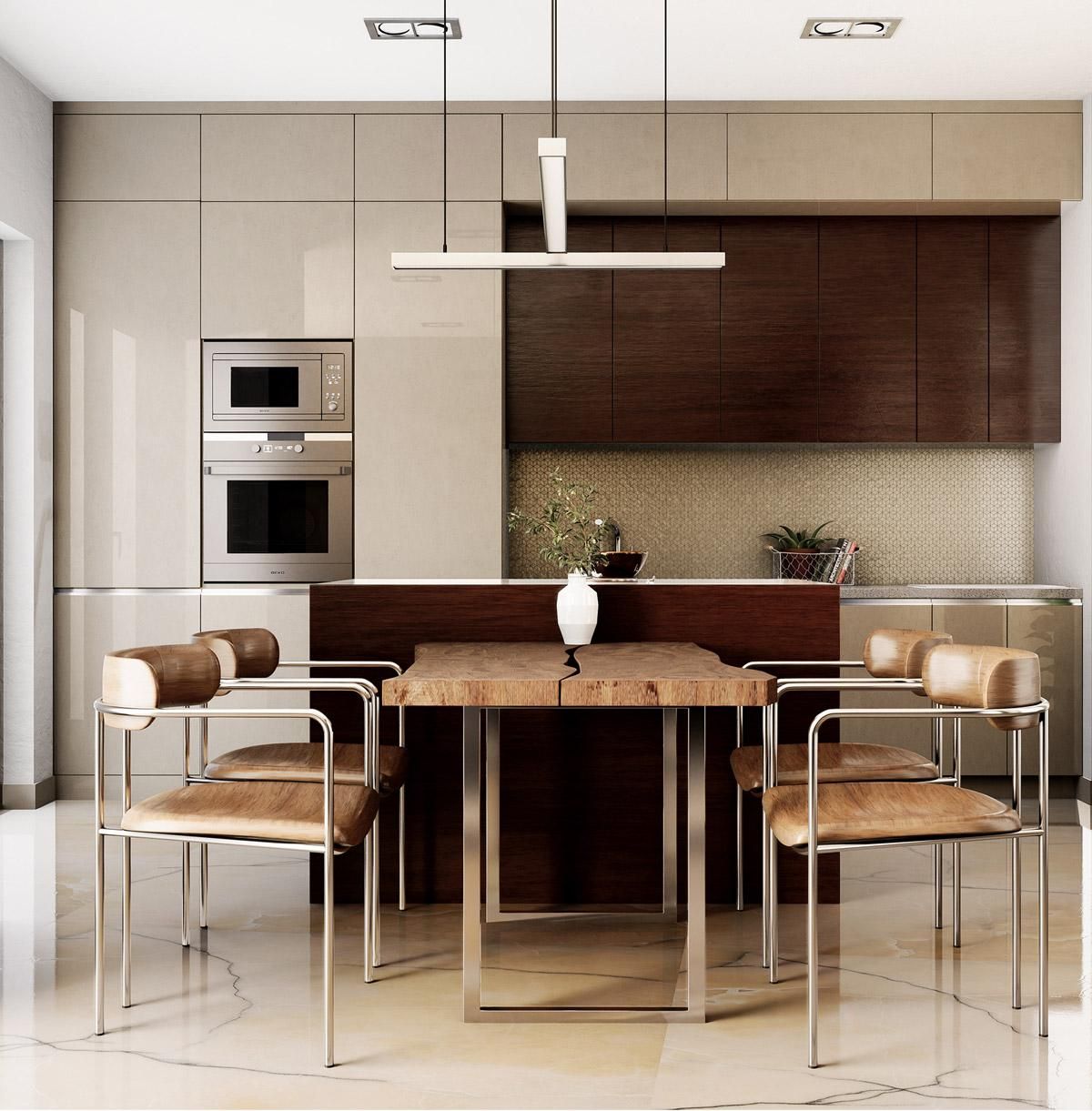 Trang trí nội thất phòng bếp