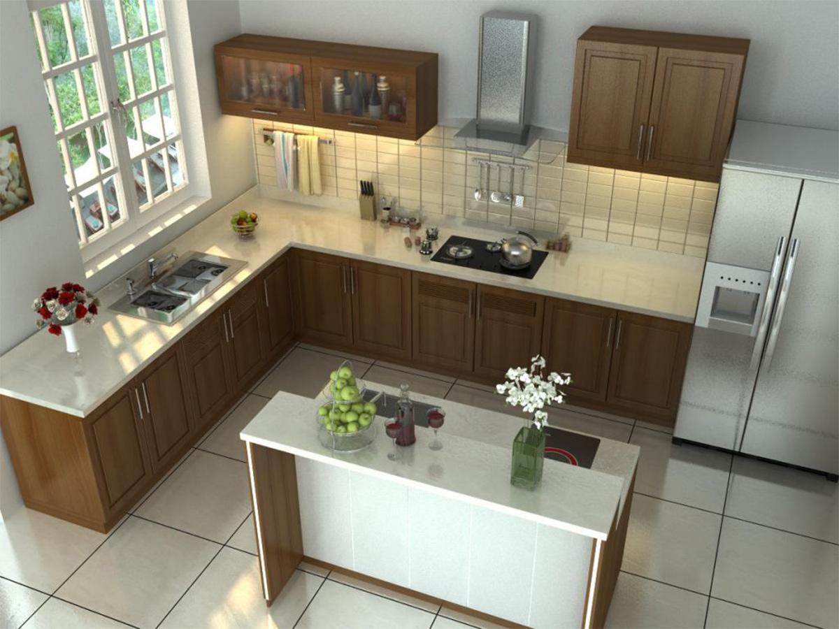 thiết kế nội thất nhà bếp đẹp