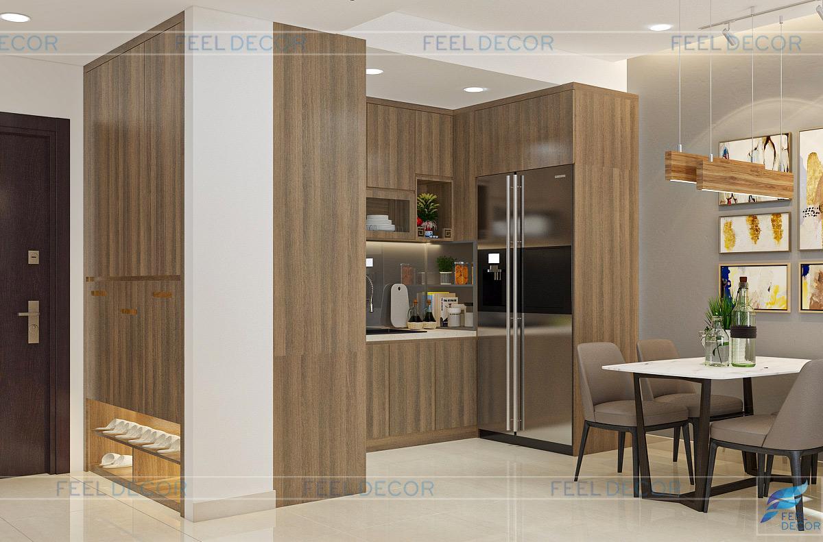 Thiết kế thi công nội thất căn hộ Botanica Premier - Chủ đầu tư chị Hiền anh Hải