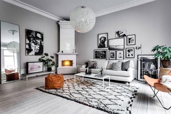 thiết kế nội thất chung cư cao cấp phong cách scandinavian