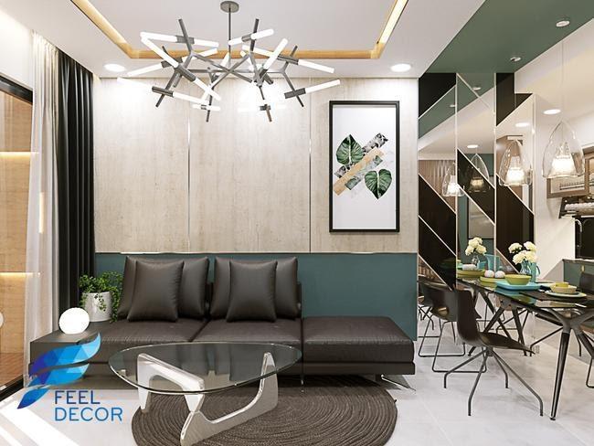 thiết kế nội thất chung cư đẹp 60m2