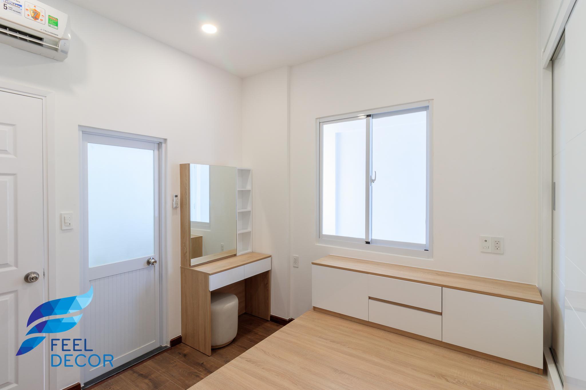 Hình ảnh thực tế thiết kế nội thất căn hộ 2 phòng ngủ (71m2) ở Biên Hòa - FD11618