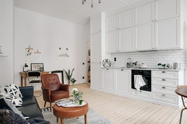 mẫu thiết kế nội thất chung cư hiện đại 45m2