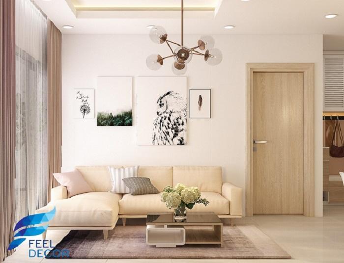 mẫu thiết kế nội thất chung cư 80m2