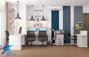 Mẫu thiết kế nội thất căn hộ Officetel 30m2 chung cư Millennium Masteri