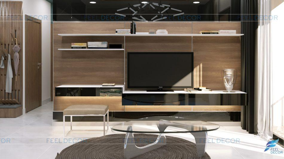 Thiết kế thi công nội thất căn hộ mẫu chung cư Masteri