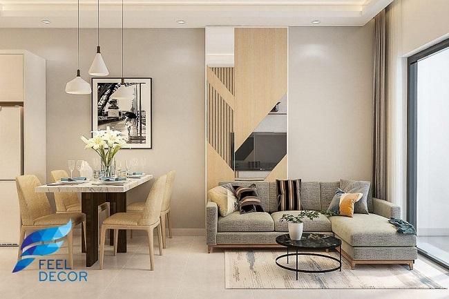 mẫu thiết kế nội thất chung cư 70m2
