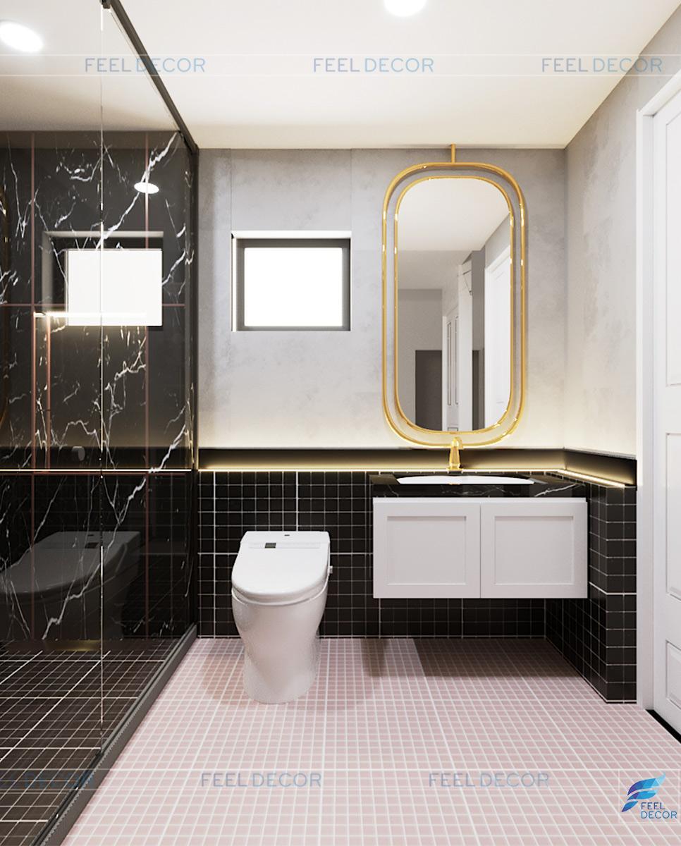 Thiết kế thi công nội thất căn hộ 100m2 2 phòng ngủ chung cư Botanica Premier