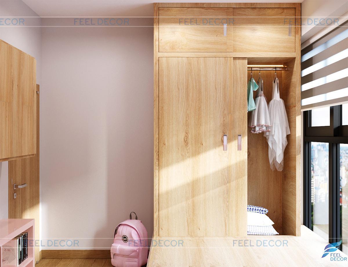 Thiết kế thi công nội thất căn hộ 123m2 chung cư Riverpark Premier – FD0819