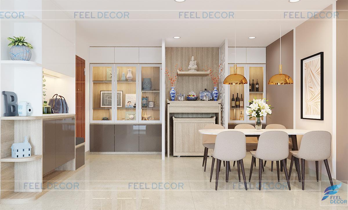 Thiết kế thi công nội thất căn hộ 3 PN chung cư CityLand ParkHill