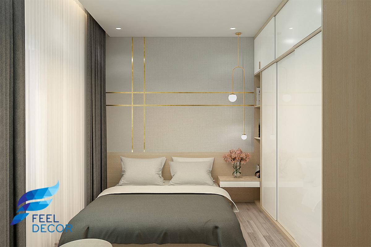 Thiết kế thi công nội thất căn hộ 66m2 chung cư Saigon Mia – Chủ đầu tư Anh Phước