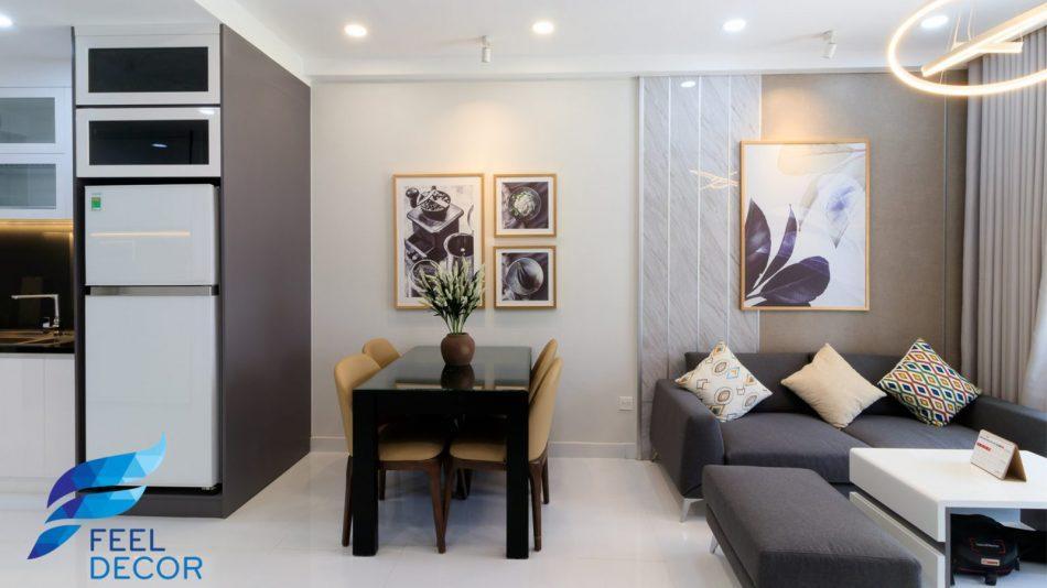 hình ảnh thực tế nội thất căn hộ 66m2