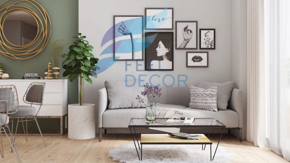 thiết kế nội thất căn hộ 79m2